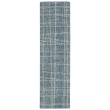 Liora Manne Savannah Mad Plaid Blue 2'0″ x 7'6″ SVHR8950603