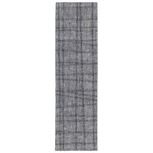 Liora Manne Savannah Mad Plaid Grey 2'0″ x 7'6″ SVHR8950619