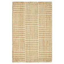 Liora Manne Terra Squares Natural 3'0″ x 5'0″ TEA35676212