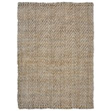 Liora Manne Terra Chevron Natural 8'3″ x 11'6″ TEA81676112