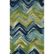 Liora Manne Tivoli Contemporary Blue 3'6″ x 5'6″ TIV46810722