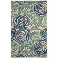 Liora Manne Tivoli Contemporary Blue 8'0″ x 10'0″ TIV80810622