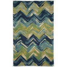 Liora Manne Tivoli Contemporary Blue 9'0″ x 12'0″ TIV92810722