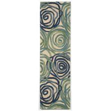 Liora Manne Tivoli Contemporary Blue 2'3″ x 8'0″ TIVR8810622