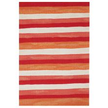 Liora Manne Visions II Contemporary Red 2'0″ x 3'0″ VCF23431324