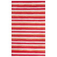 Liora Manne Visions II Contemporary Red 5'0″ x 8'0″ VCF58431324