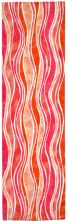Liora Manne Visions III Contemporary Pink 2'3″ x 8'0″ VEBR8312637