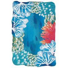 Liora Manne Visions Iv Casual Blue 2'0″ x 3'0″ VGH23413703