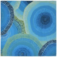Liora Manne Visions Iv Contemporary Blue 8'0″ x 8'0″ Square VGHS8430204