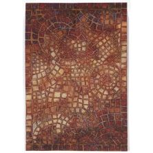 Liora Manne Visions V Contemporary Red 2'0″ x 3'0″ VHI23325724