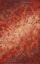 Liora Manne Visions V Contemporary Red 3'6″ x 5'6″ VHI46325724
