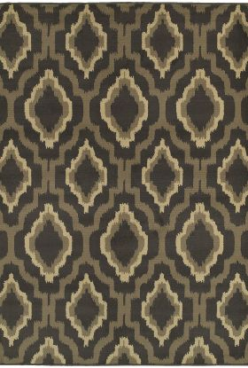 Oriental Weavers Brentwood 5501d Charcoal Collection