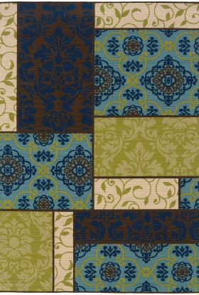 Oriental Weavers Caspian 3066v Brown Collection
