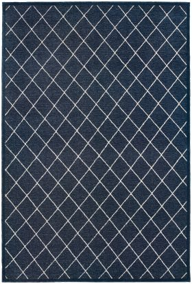 Oriental Weavers Ellerson 90q Navy Collection