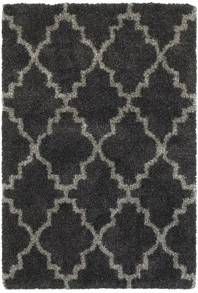 Oriental Weavers Henderson 92k Charcoal Collection