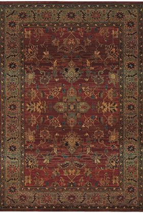 Oriental Weavers Kharma 836c Red Collection