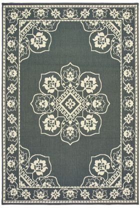 Oriental Weavers Marina 7764e Grey Collection