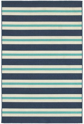Oriental Weavers Meridian 5701b Blue Collection