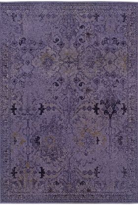 Oriental Weavers Revival 8023m Purple Collection