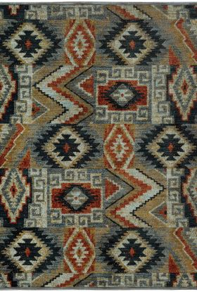Oriental Weavers Sedona 5937d Blue Collection