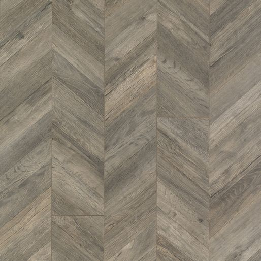 Quickstep Reclaime Parisian Chevron Gris Planks