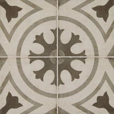 Daltile Quartetto Cool Circolo Gray/Black QU2188CIRCSM1P