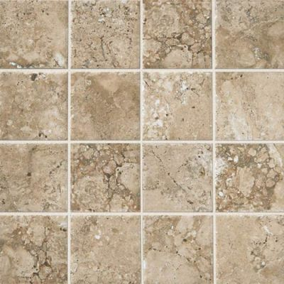 American Olean Bordeaux Chameau 3 x 3 MosaicBD02 BD0233PMS1P2