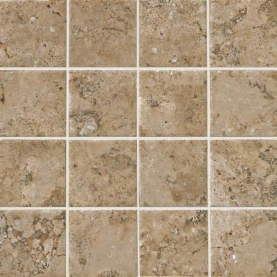 American Olean Bordeaux Marron 3 x 3 MosaicBD03 BD0333SWATCH1P2