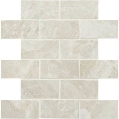 American Olean Mirasol Silver Marble 2 x 4 MosaicML72 ML7224SWTCH2