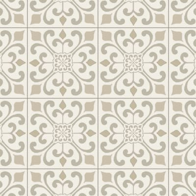 Armstrong Cushionstep Better Amador Medallion Creme B3381401