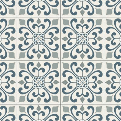 Armstrong Cushionstep Better Amador Medallion Deep Blue B3382401