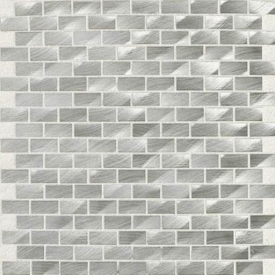 Daltile Structure Steel 1/2 X 1 Brickjoint Gray/Black ST70121BJMS1P