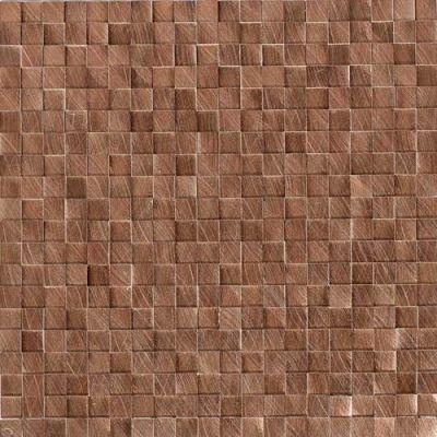 Daltile Structure Copper 1/2 X 1/2 3d Cube Copper ST711212HLMS1P