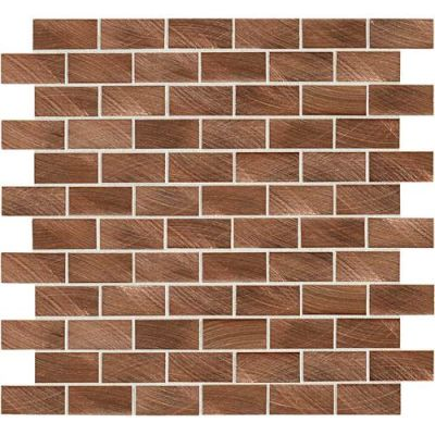 Daltile Structure Copper 1 X 2 3d Brickjoint Copper ST7112HLBJMS1P