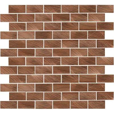 Daltile Structure Copper 1 x 2 BrickJoint ST7112BJMS1P