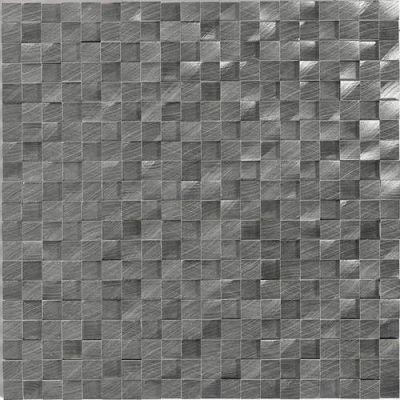 Daltile Structure Gunmetal 1/2 X 1/2 3d Cube Gray/Black ST721212HLMS1P