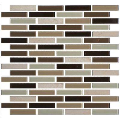 Daltile Mosaic Traditions Zen Escape 5/8 x 3 Brickjoint Mosaic BP96583BJMS1P