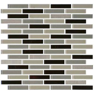 Daltile Mosaic Traditions Evening Sky 5/8 x 3 Brickjoint Mosaic BP97583BJMS1P