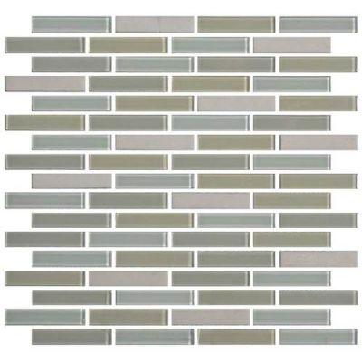 Daltile Mosaic Traditions Oasis 5/8 x 3 Brickjoint Mosaic BP98583BJMS1P