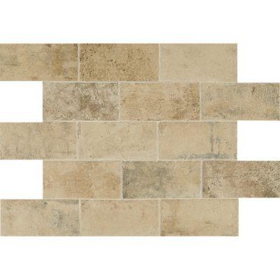 Daltile Brickwork Atrium Beige/Taupe BW02481P