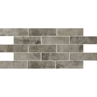 Daltile Brickwork Alcove Gray/Black BW04281P
