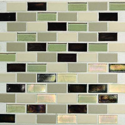 Daltile Coastal Keystones Sunset Cove 2 x 1 BrickJoint Mosaic CK8921BJPM1P