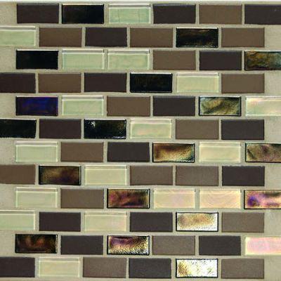 Daltile Coastal Keystones Treasure Island 2 x 1 BrickJoint Mosaic CK9021BJPM1P