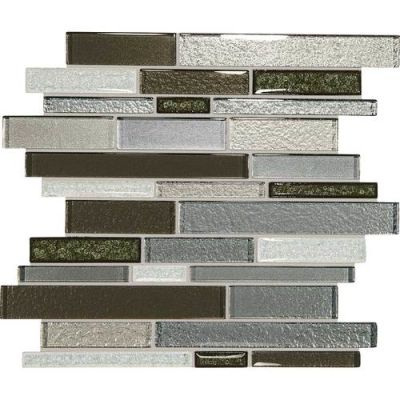Daltile Crystal Shores Emerald Isle Gray/Black CS96RANDMS1P