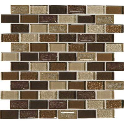 Daltile Crystal Shores Copper Coast Brown CS9721BJMS1P