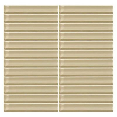 Daltile Color Wave Tango Tan StraightJoint Mosaic CW0616MS1P