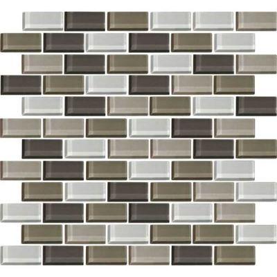 Daltile Color Wave Soft Cashmere Brickjoint Mosaic Beige/Taupe CW2221BJMS1P