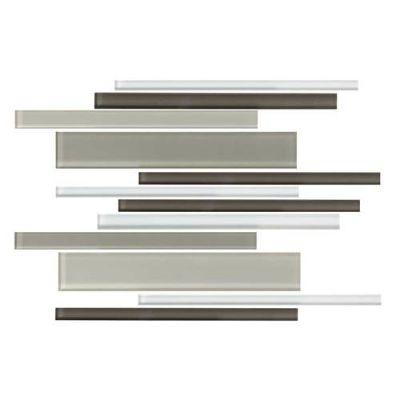 Daltile Color Wave Soft Cashmere Interlocking Mosaic Beige/Taupe CW221214MS1P