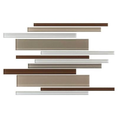 Daltile Color Wave Downtown Oasis Interlocking Mosaic Beige/Taupe CW231214MS1P