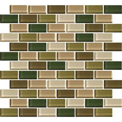 Daltile Color Wave Rain Forest BrickJoint Mosaic CW2521BJMS1P